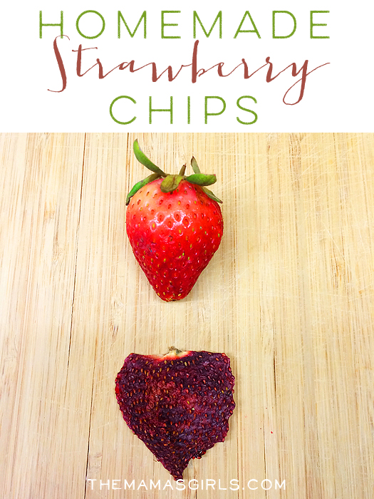 Dried Strawberry Chips for a Healthy Snack