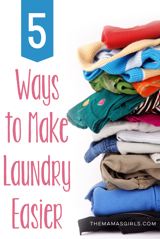 5 Ways to Make Laundry Easier