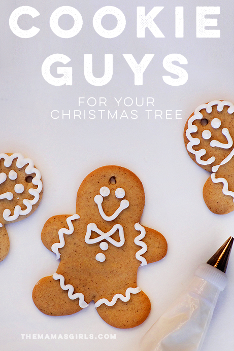 Cookie Guys for the Christmas Tree (and delicious for eating too!)