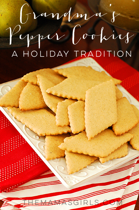 Grandma's Pepper Cookies – A Holiday Tradition!