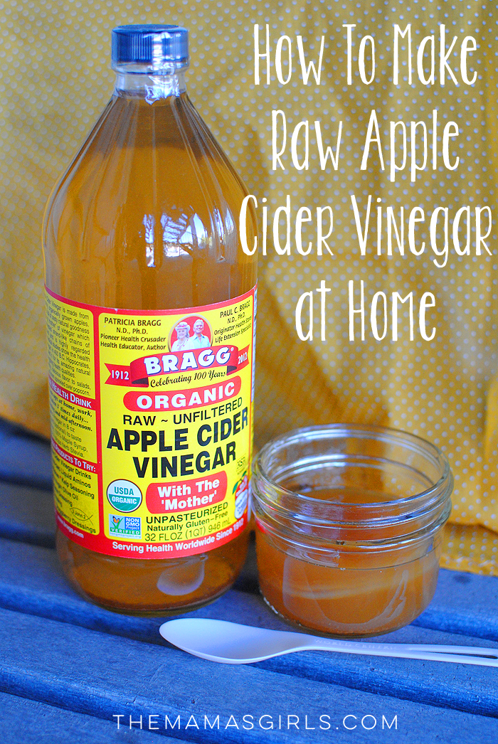 How To Make Raw DIY Apple Cider Vinegar at Home