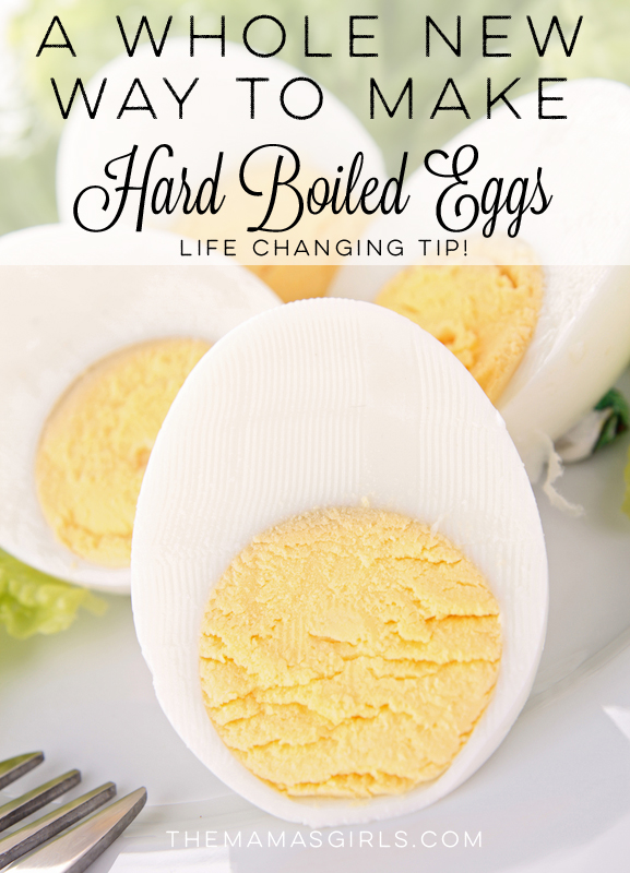 A Whole New Way to Make Hard Boiled Eggs – Life Changing Tip!