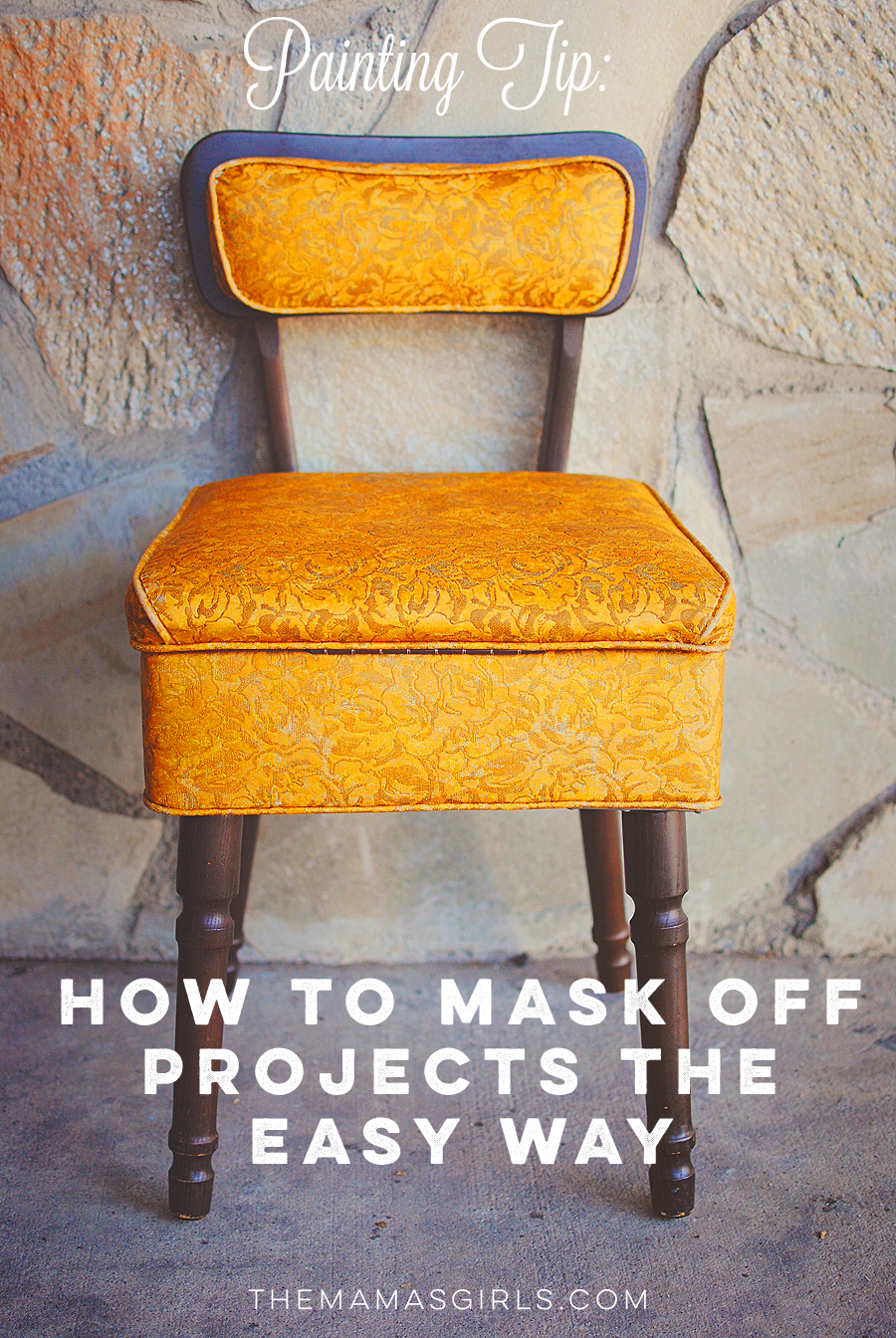 How to Mask Off Furniture When Spray Painting with Plastic Wrap