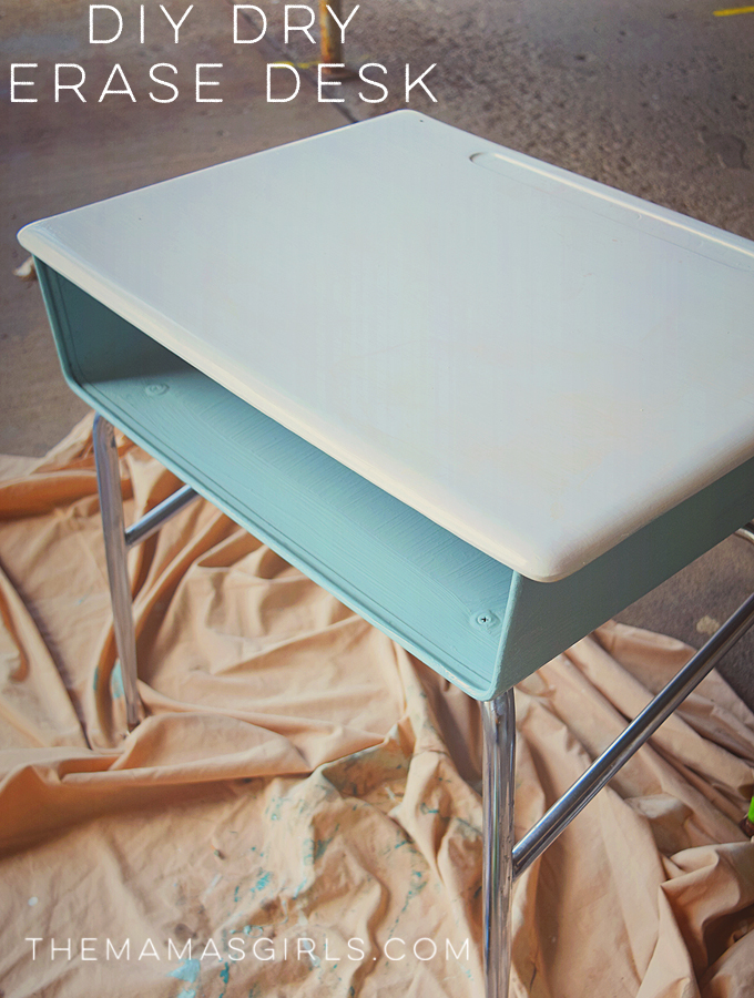 DIY Dry Erase Desk