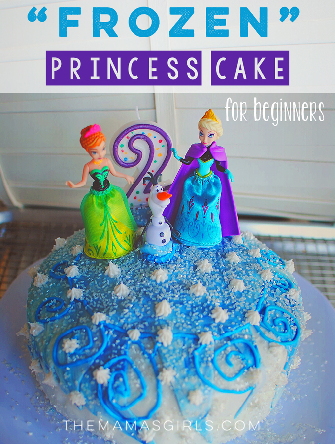 Homemade Frozen Princess Cake for Beginners