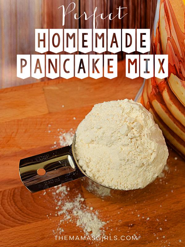 perfect homemade pancake mix