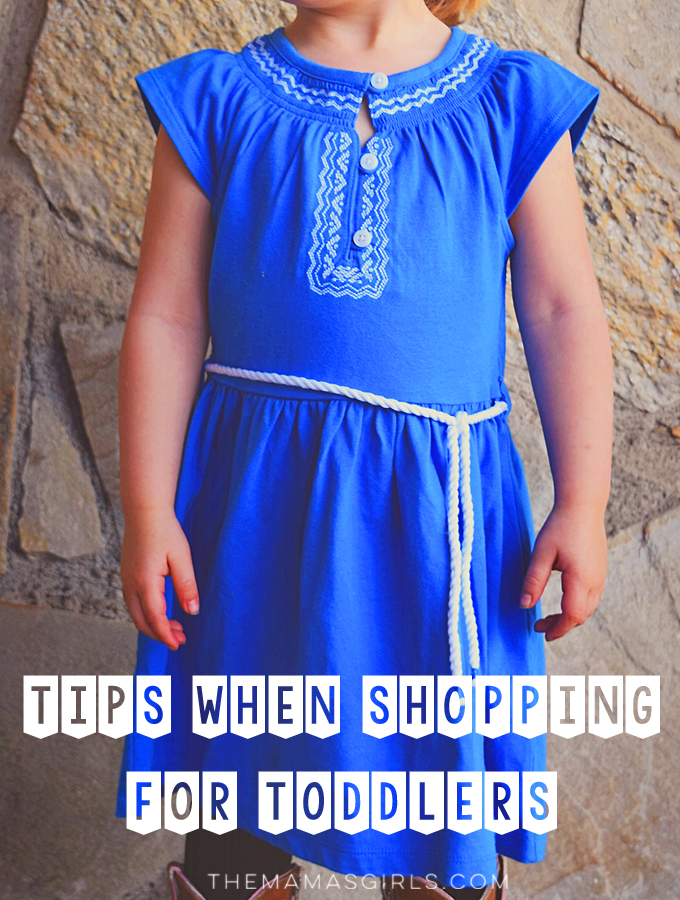 Toddlers Shopping Tips