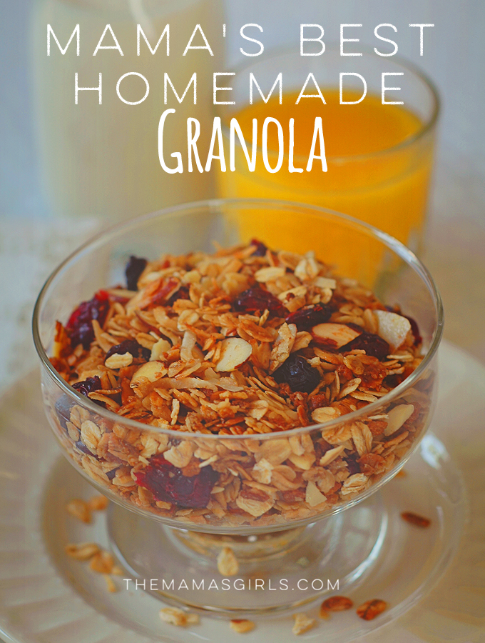 Mama's Best Homemade Granola