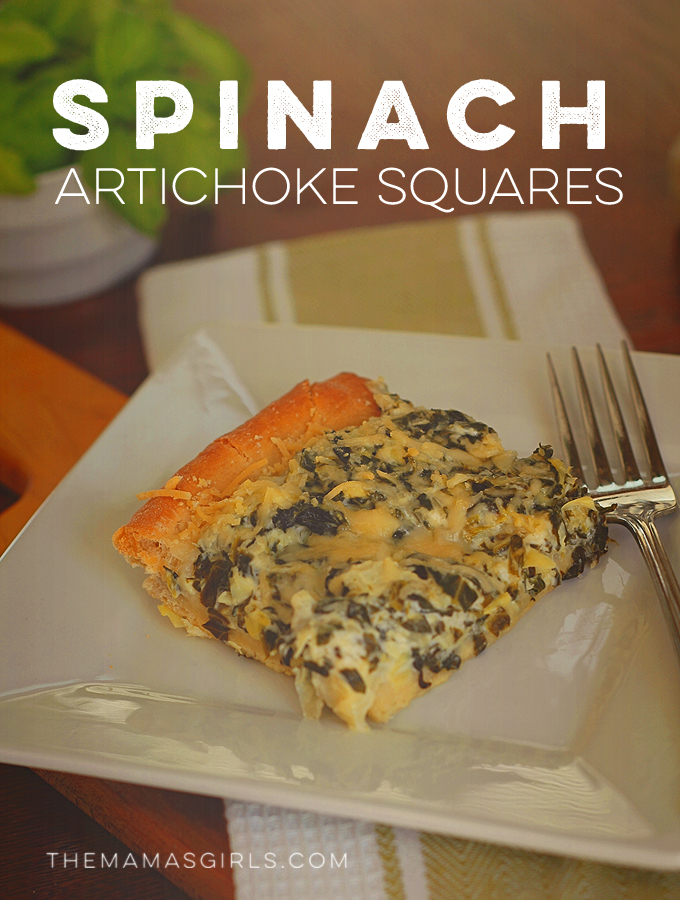 Rhodes Spinach Artichoke Squares