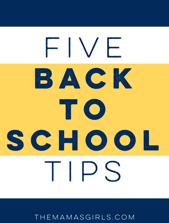 5 Back to School Tips