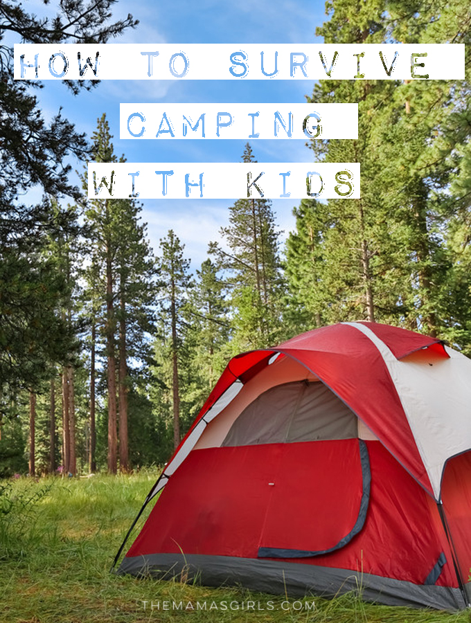 How to Survive Camping with Kids