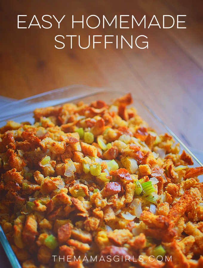 Easy Homemade Stuffing