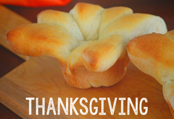 Rhodes Thanksgiving Turkey Shaped Rolls