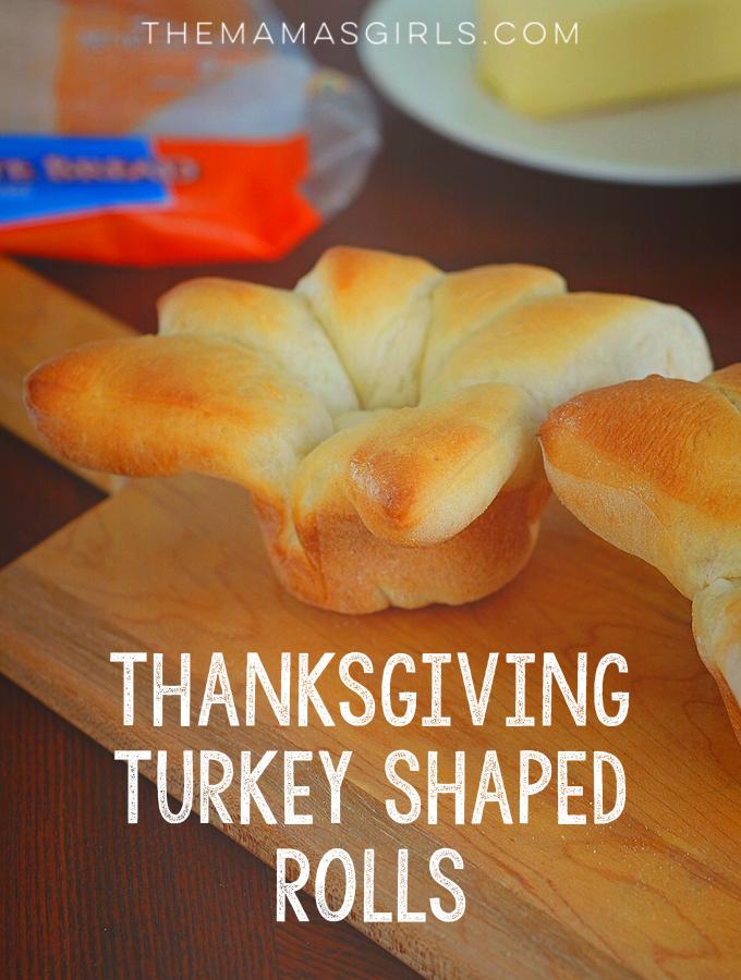 Rhodes Thanksgiving Turkey Shaped Rolls