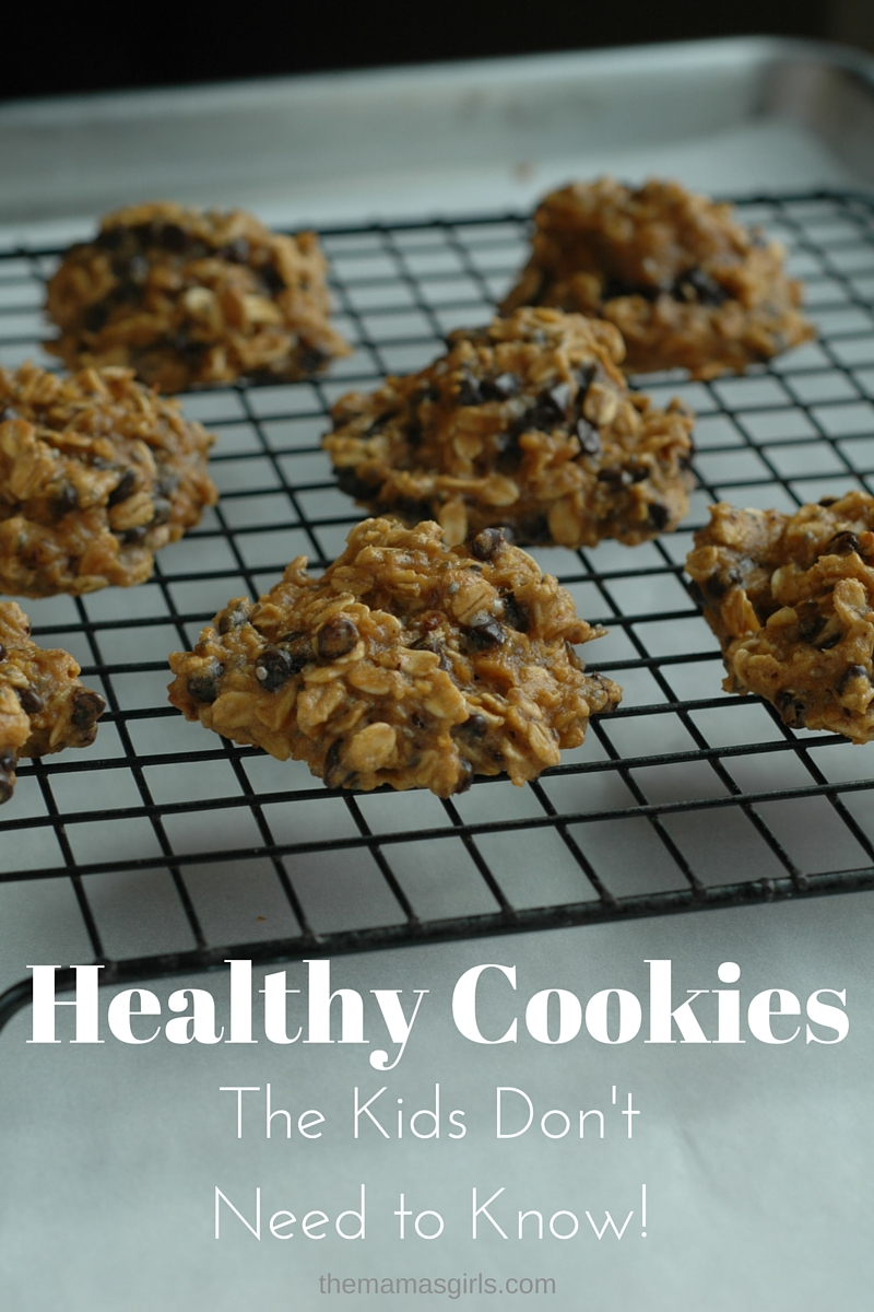 Healthy Cookies – The Kids Don't Need to Know!