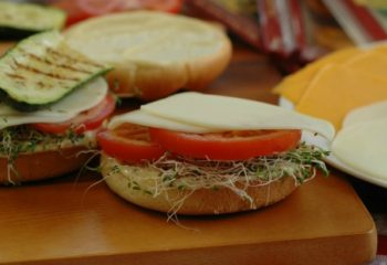 Grilled Zucchini Sandwiches