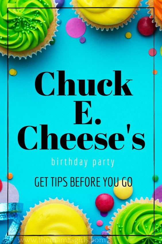 Chuck E. Cheese's Birthday Planning Guide