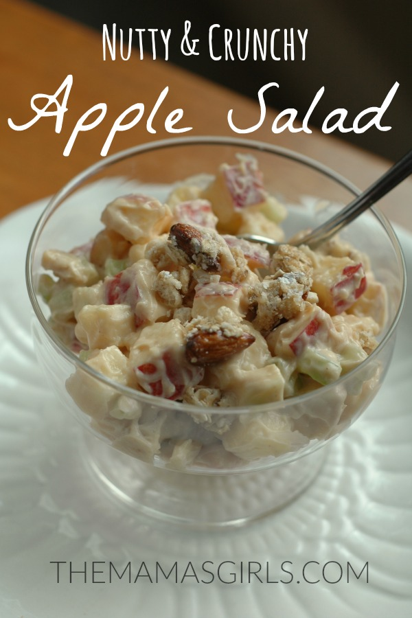 Nutty & Crunchy Apple Salad