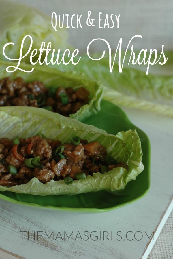 Quick & Easy Lettuce Wraps