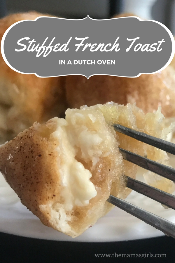 Easy French Toast Rolls in a Dutch Oven