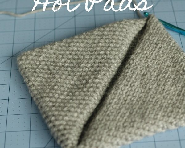 Easy Magic Crocheted Hot Pads