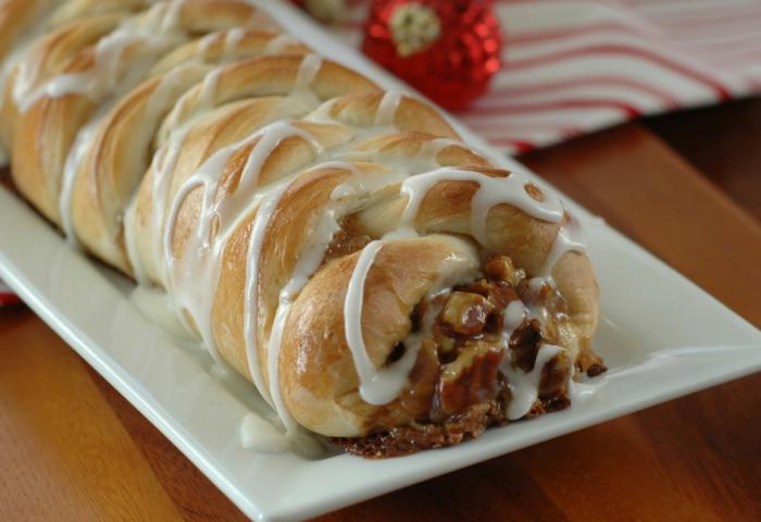 Pecan Pie Braided Bread