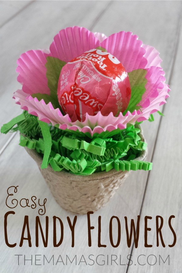 Easy Candy Flowers