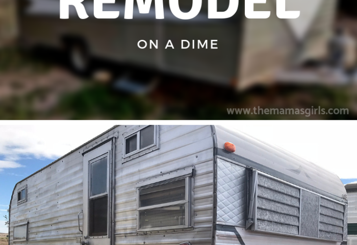 Remodel a Camper on a Dime